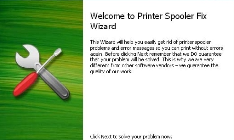 Spooler problem printing